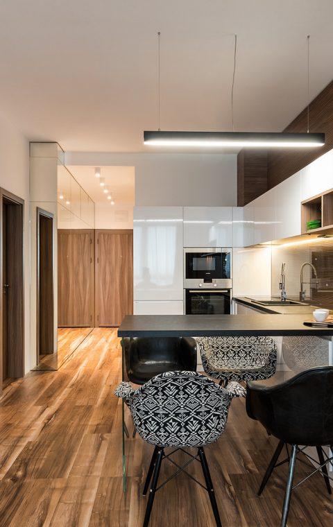 Интериор на компактен апартамент