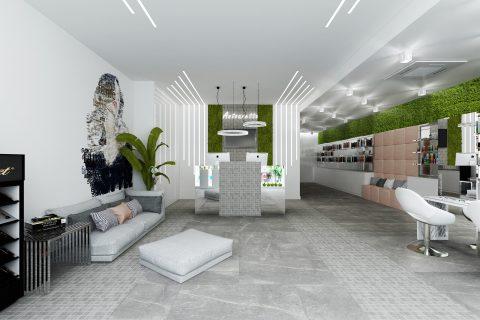 Проект студио за красота